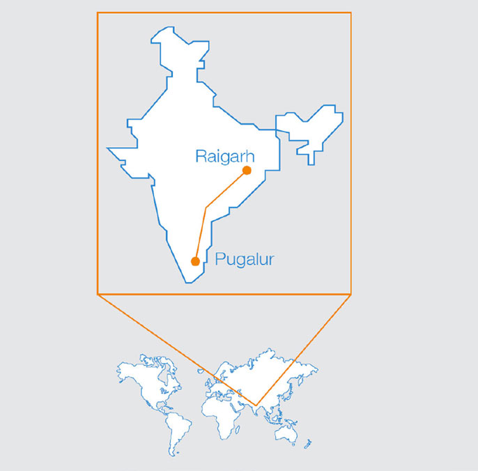 CI awarded major reactor contract for UHVDC Project in India