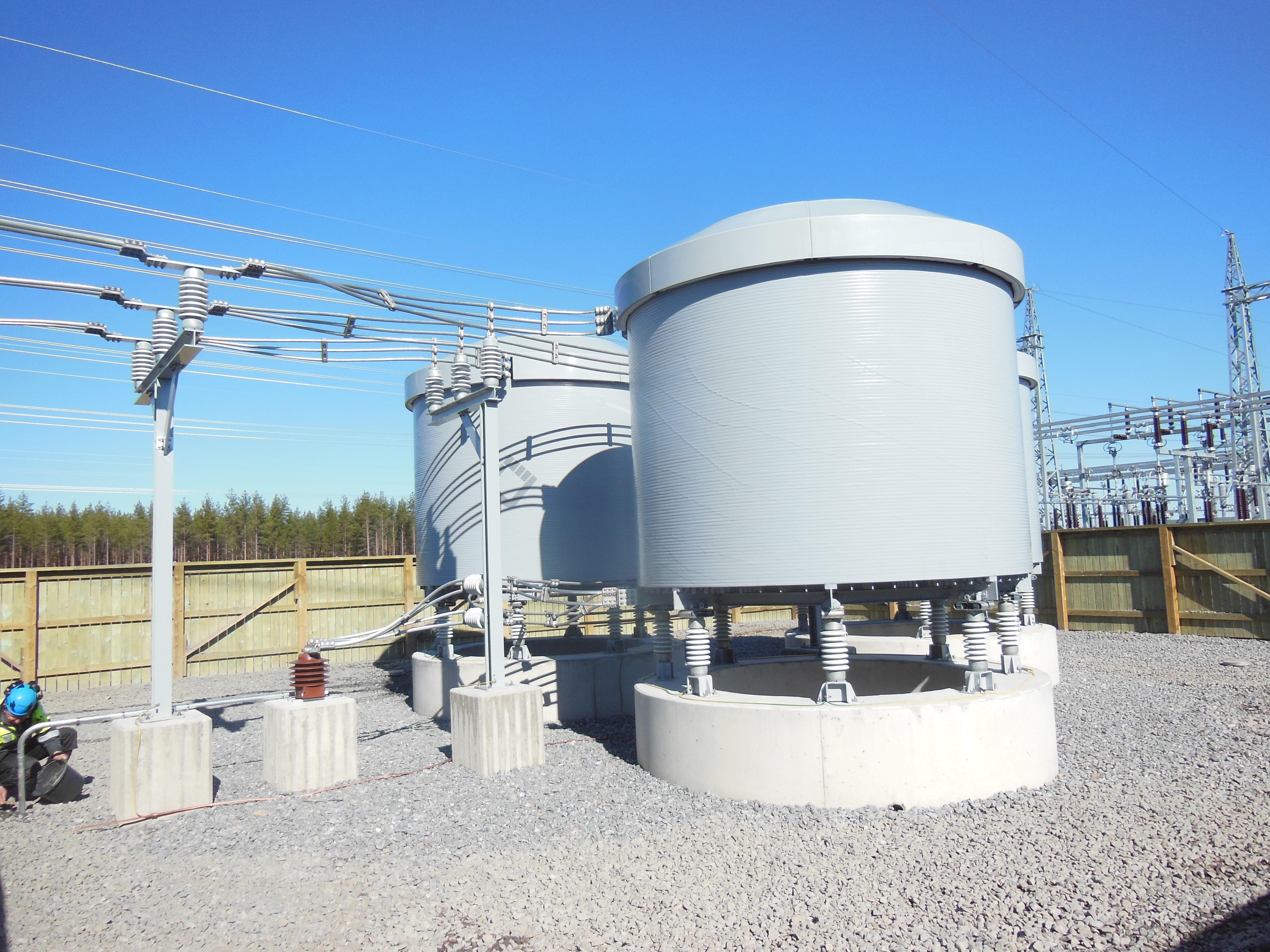 20 kV Kompensationsspulen