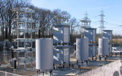 225 kV Filterdrosselspulen für Frankreich