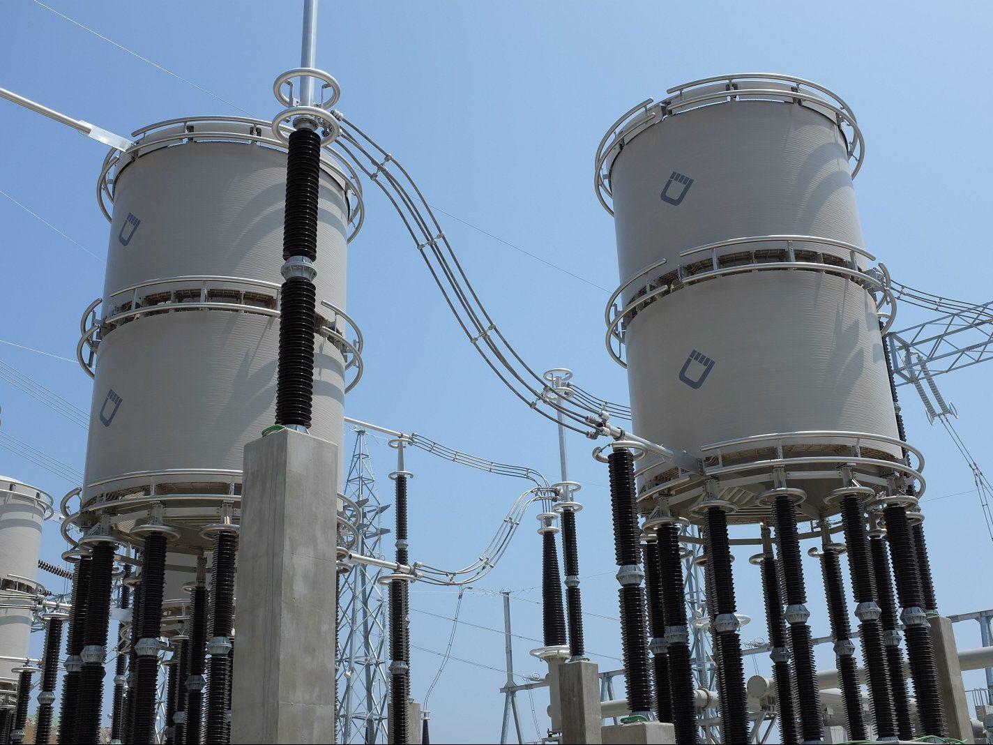 345 kV Strombegrenzungsdrosseln