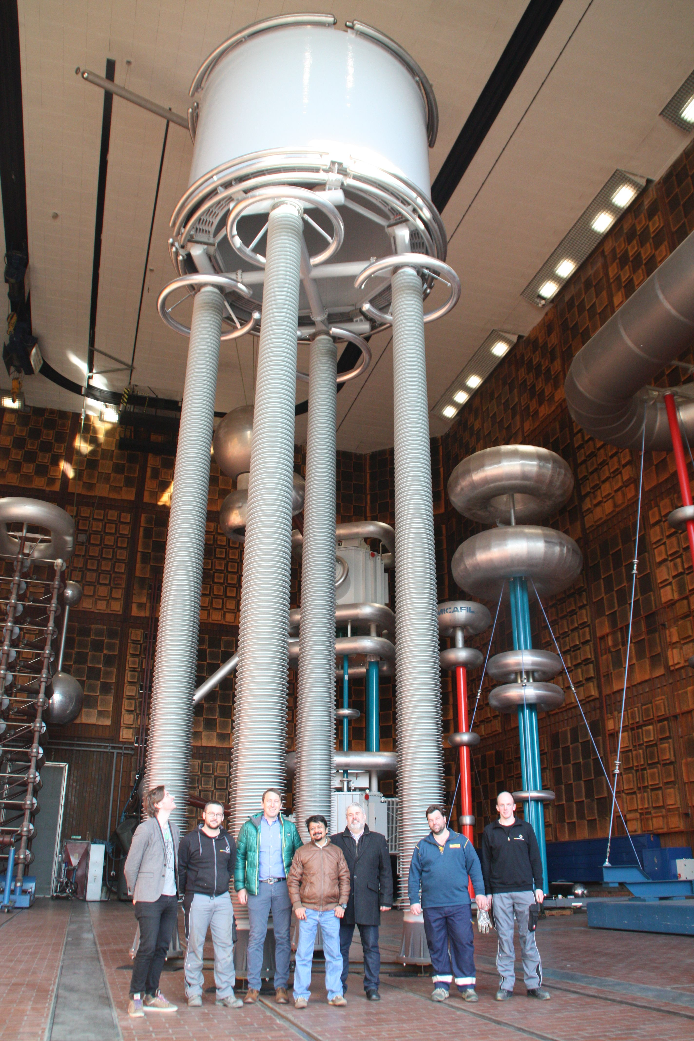 800 kV HVDC Glättungsdrossel