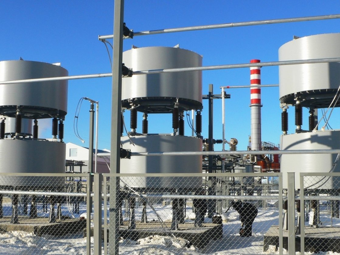 Thyristor-controlled Shunt Reactors